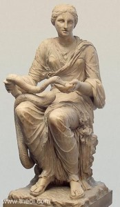 Hygeia-and-her-Snake