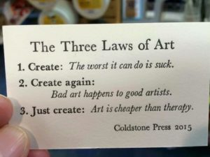 The Three Laws of Art